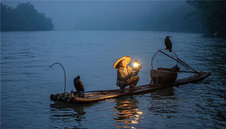 【来时和月寄渔船】月夜探渔船